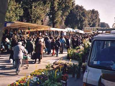 Mercato Delle Cascine Market Florence, Italy