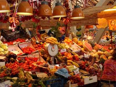 Mercato Centrale Market Florence, Italy