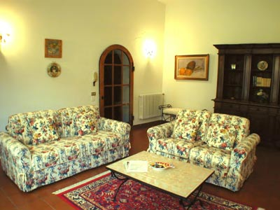Cottage Villetta Florence Living Room
